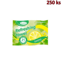Osvěžující citronové ubrousky [250 ks]
