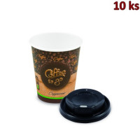"Pap. kelímek ""Coffee to go"" 280 ml, + vícko (Ø 80 mm) [10 ks]"