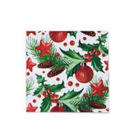 Vánoční ubrousky 3-vrstvé 33x33 - motiv 84021 [20 ks]
