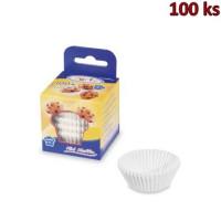 Cukrářské košíčky bílé Ø 35 x 20 mm