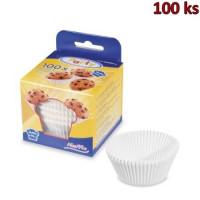 Cukrářské košíčky bílé Ø 50 x 30 mm