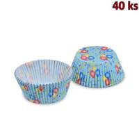 Cukrářské košíčky balónky Ø 50 x 30 mm