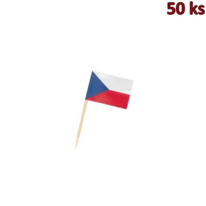 Napichovátko Vlaječka CZ 70 mm [50 ks]