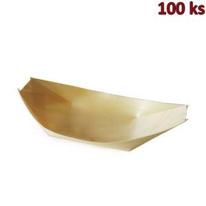 Fingerfood miska dřevěná, lodička 18 x 10,5 cm [100 ks]