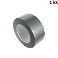Lepící páska s tkaninou, stříbrná 50 m x 48 mm [1 ks]