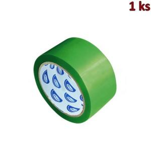 Lepící páska zelená 66 m x 48 mm [1 ks]