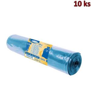 Pytle na odpadky modré 70x110cm,120 l, Typ 50 [10 ks]