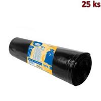 Pytle na odpadky černé 70x110cm,120 l, Typ 60 [25 ks]