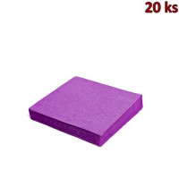 Papírové ubrousky světle fialové 33 x 33 cm 3-vrst [20 ks]