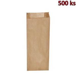 Svačinové papírové sáčky hnědé 3 kg (15+7 x 42 cm) [500 ks]
