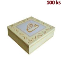 Krabice na dort -celoplošný potisk- 28x28x10 cm