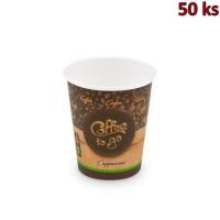 Papírový kelímek Coffee to go 280 ml, M (Ø 80 mm) [50 ks]