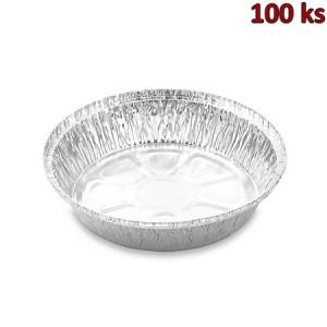 Miska kulatá ALU (1000 ml) Ø 20,7 x 4,4 cm [100 ks]