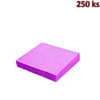 Papírové ubrousky světle fialové 2-vrstvé, 33 x 33 cm [250 ks]