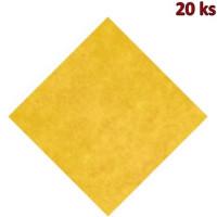 Napron PREMIUM 80 x 80 cm žlutý