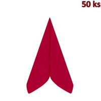 Ubrousky PREMIUM 40 x 40 cm červené [50 ks]