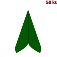 Ubrousky PREMIUM 40 x 40 cm tmavě zelené [50 ks]