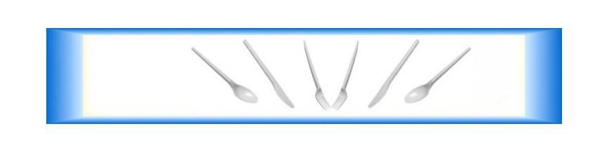 Plastové příbory jednorázové
