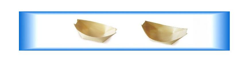 Dřevěné misky Fingerfood