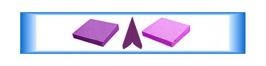Fialové ubrousky papírové