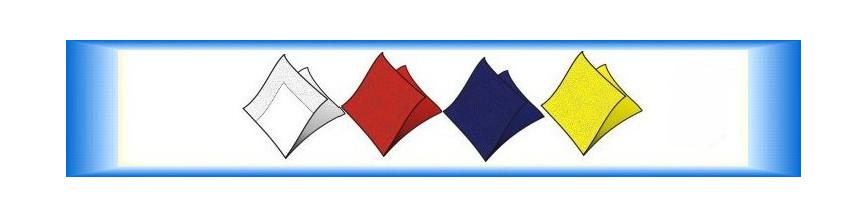 Barevné ubrousky papírové