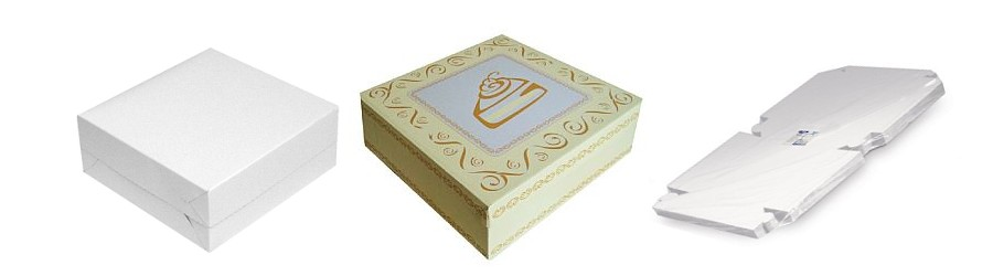 Papírové krabice na cukroví s okamžitou expedicí